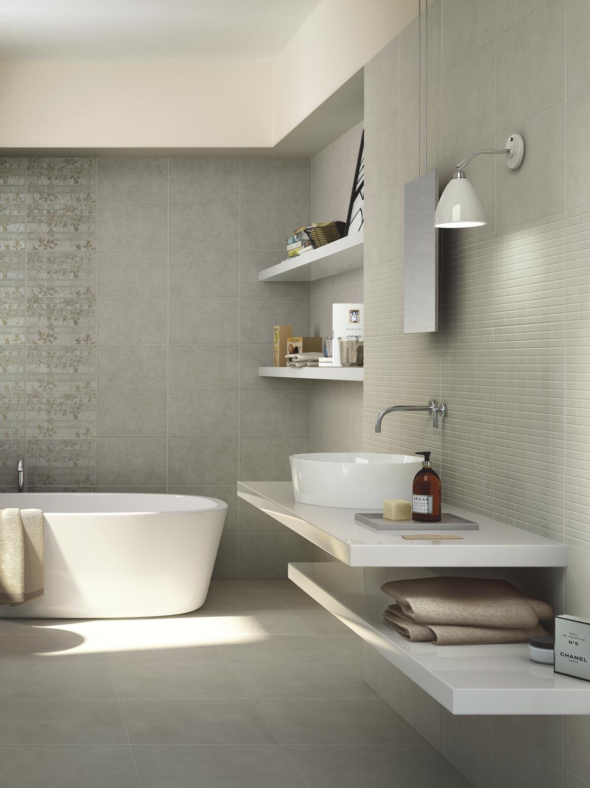 Collezione casablanca ceramica per bagno e cucina ragno for Piastrelle per bagno