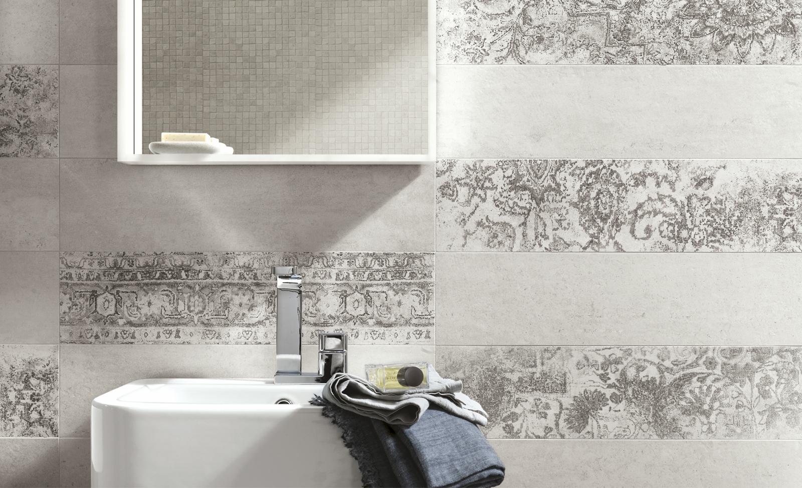 Collezione concept gres porcellanato effetto cemento ragno - Mattonelle bagno ragno ...