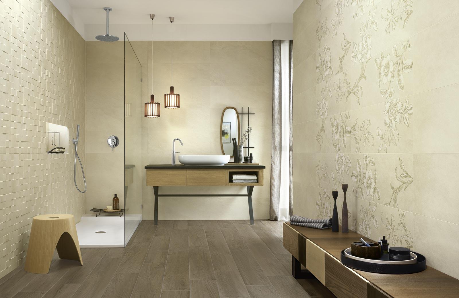 Collezione natural form rivestimenti per il tuo bagno ragno - Ragno rivestimenti bagno ...