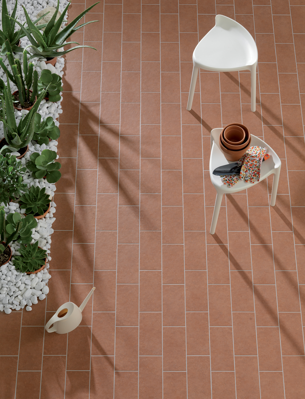 Plaza gres porcellanato per pavimenti esterni ragno - Piastrelle da balcone ...