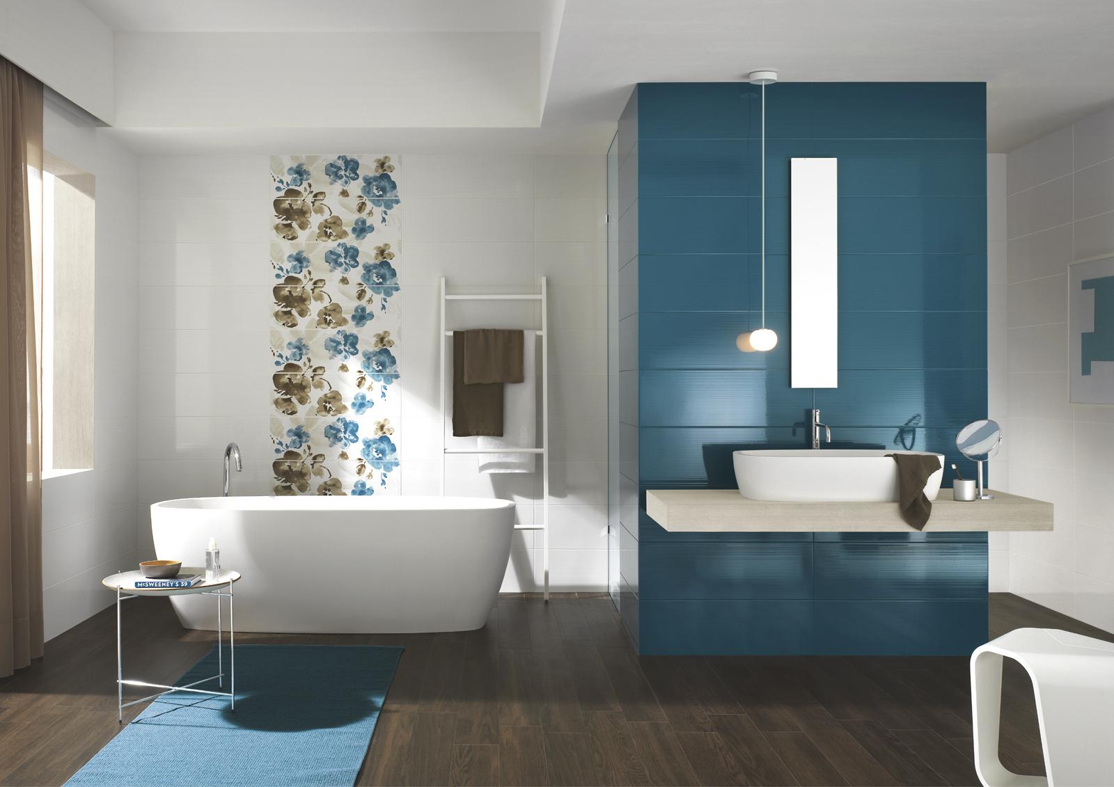 Collezione smart piastrelle colorate per bagno ragno - Bagni piastrelle moderne ...