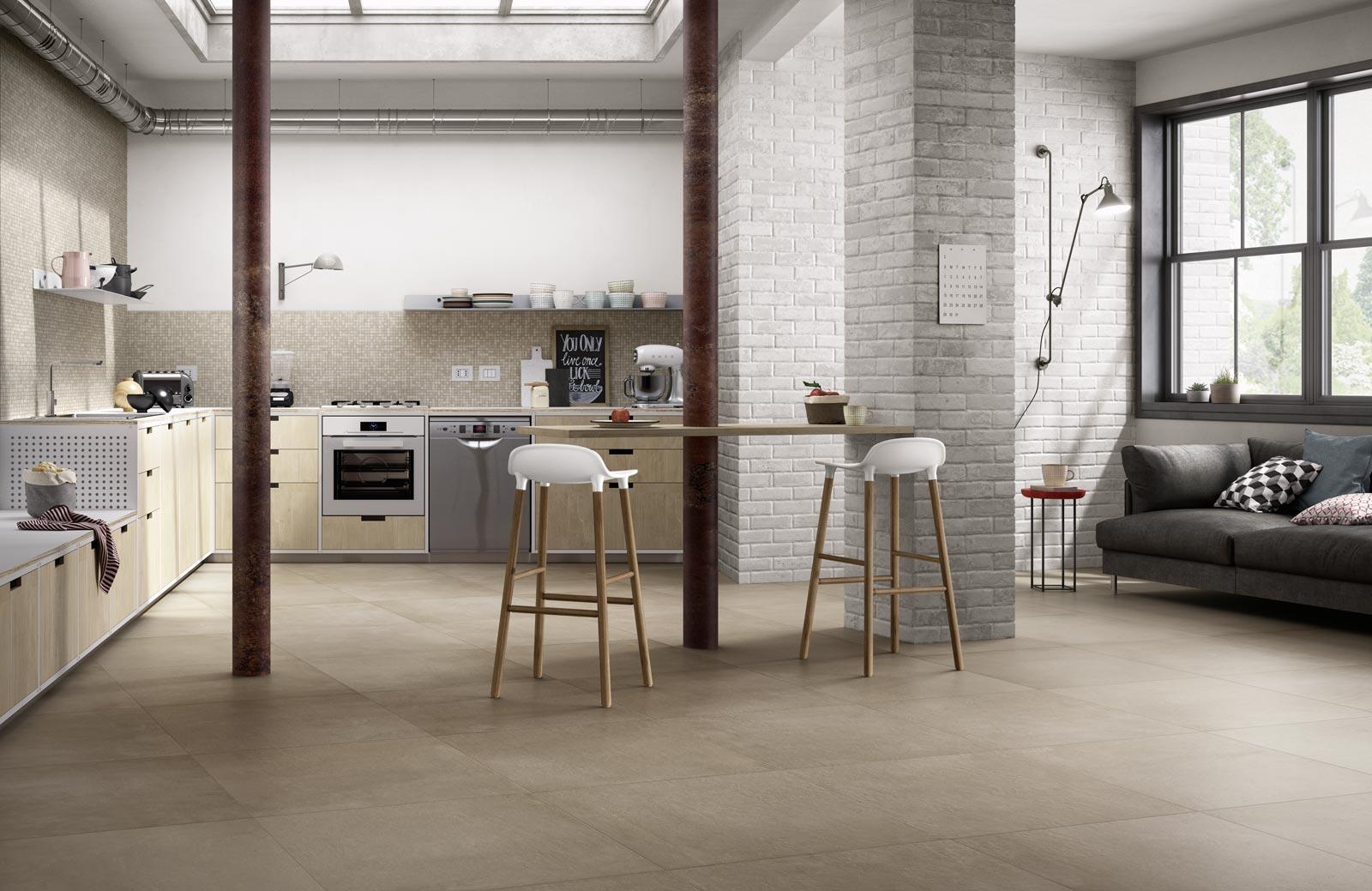 Collezione Studio: moderne superfici in cemento  Ragno