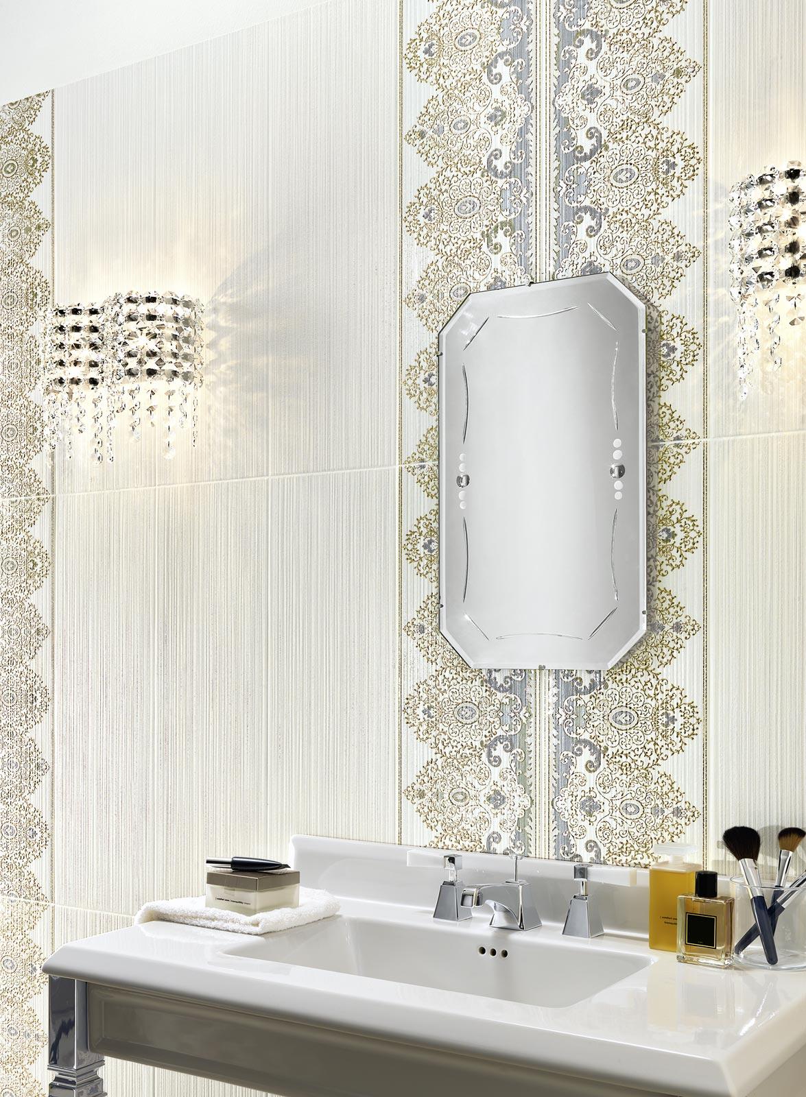 Collezione wallpaper rivestimenti classici per il bagno - Mattonelle bagno ragno ...
