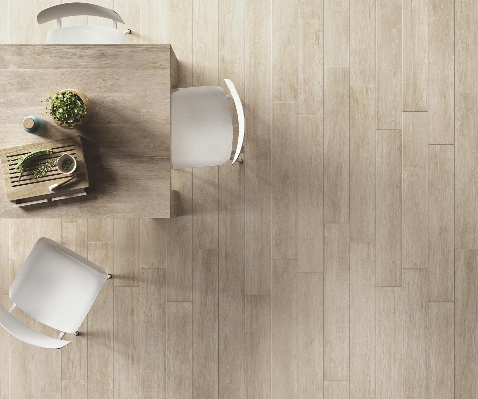 Collezione woodcomfort pavimenti in gres effetto legno for Piastrelle ceramica finto legno